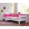Brancheria da letto bambino con cuori rosa e bianco