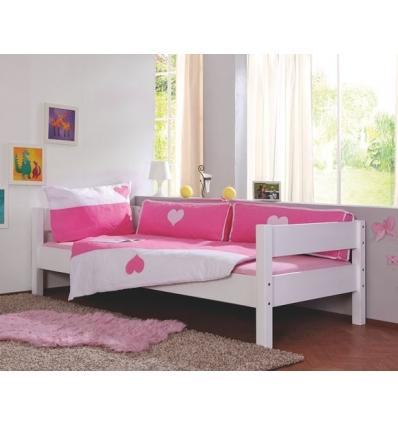 letto singolo in legno