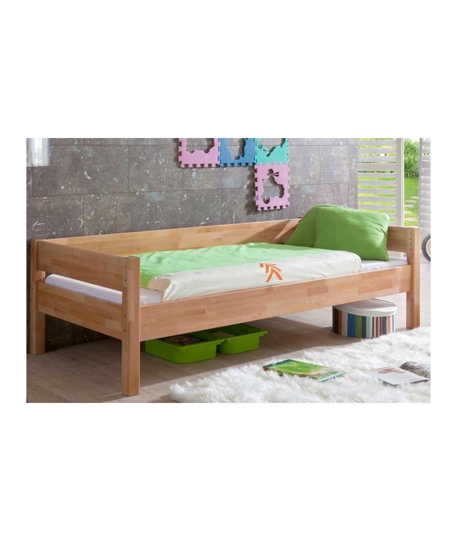 Letto singolo in legno - Divano letto doghe in legno ...