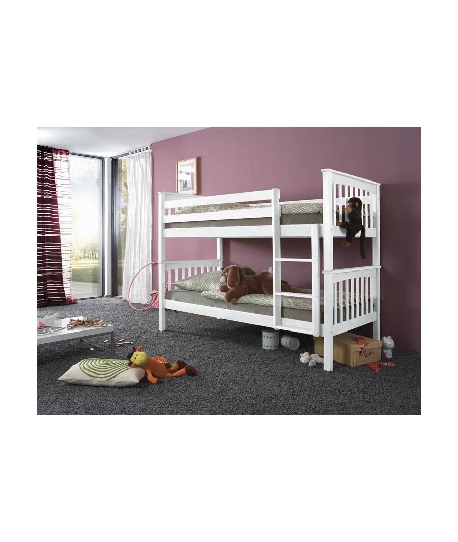 Pin cama alta con escritorio en la parte de abajo 270000 - Befara letto a castello ...