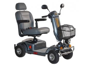 Scooter elettrico nero