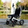 Sedia a rotelle con chiusura automatica