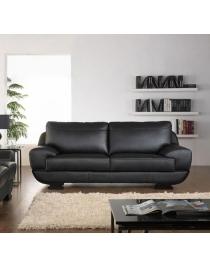 divano in pelle orientale