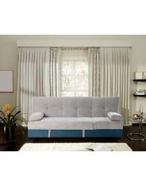 divano letto bicolore