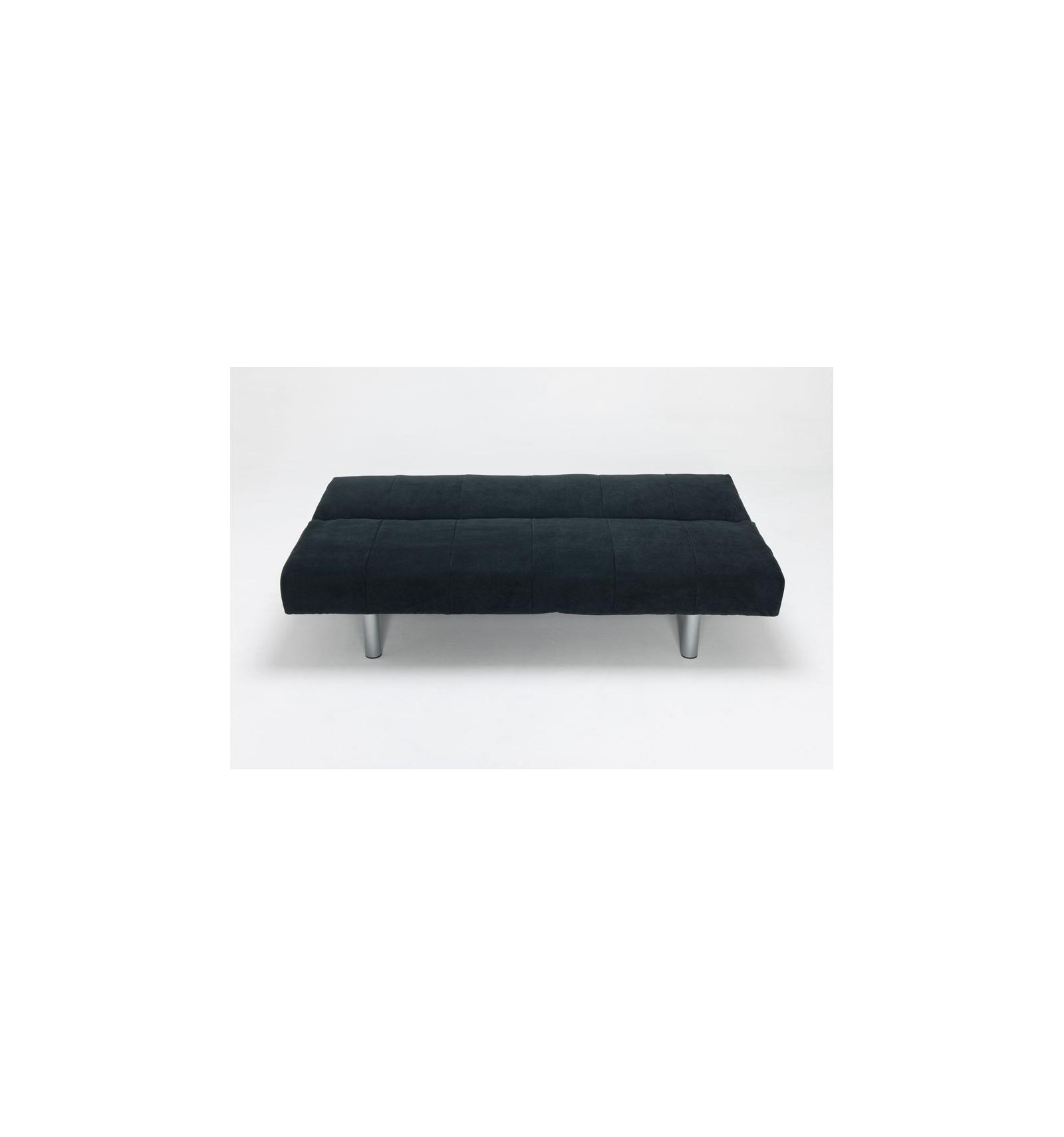Divano letto nero for Piccolo divano letto