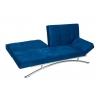 Divano letto blu