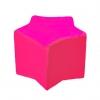 Poltrona puff bambino rosa