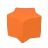 Poltrona puff bambino arancione